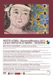 Cartolina Notte d'Oro 2015 RETRO