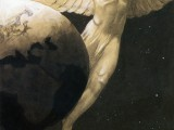 Sascha Schneider, Peace on Earth (1904) (detail)